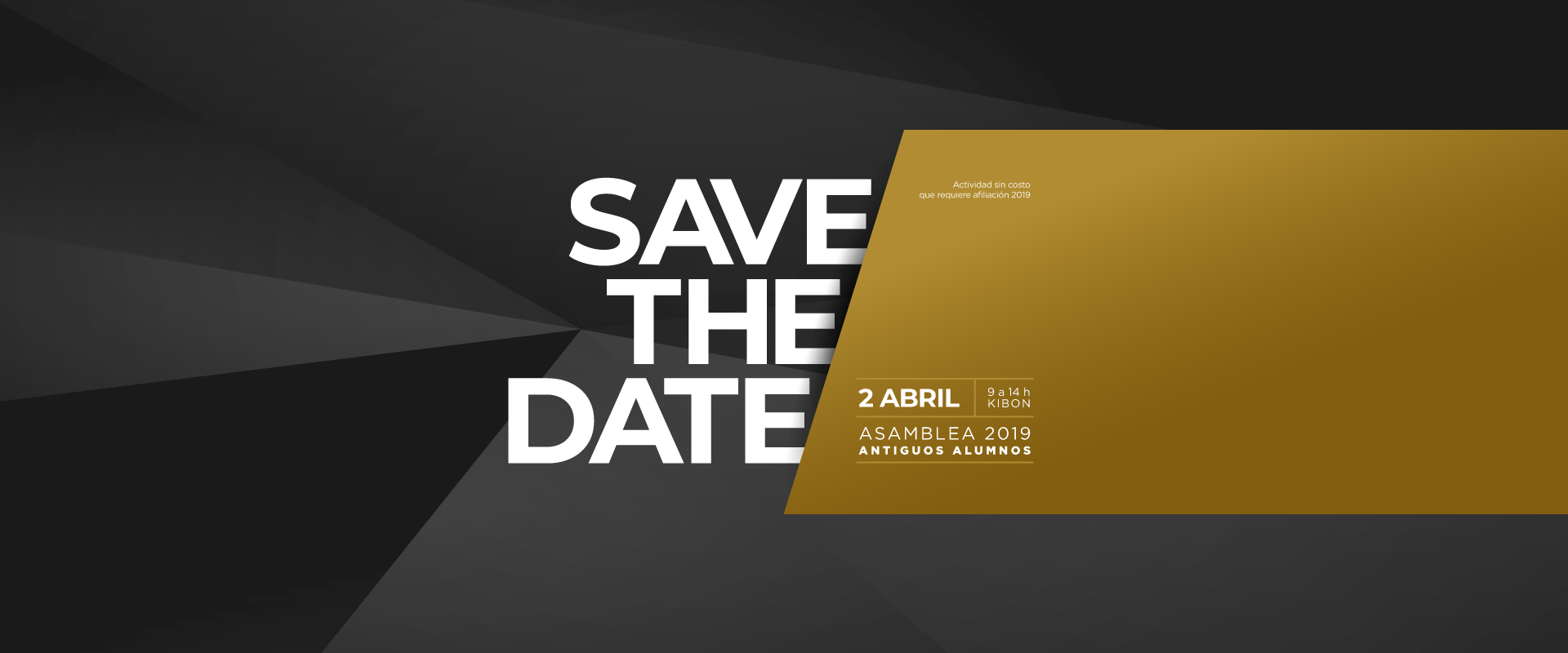 save the date AAA 2019